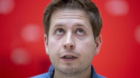 Der Juso-Vorsitzende Kevin Kühnert.