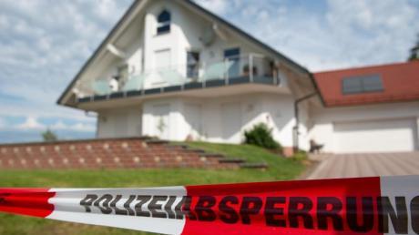 Das Haus des ermordeten Kasseler Regierungspräsidenten Walter Lübcke.