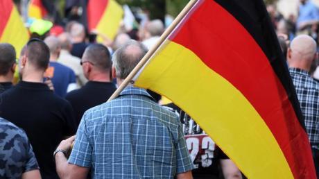 In Chemnitz kommt es immer wieder zu Kundgebungen von Rechtsextremen.