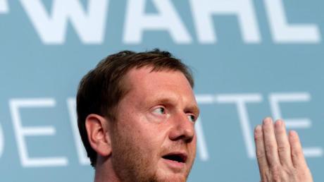 Sachsens Ministerpräsident Michael Kretschmer (CDU.
