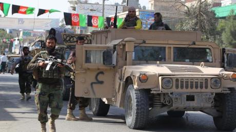 Soldaten in Kundus auf dem Weg ins Gefecht.