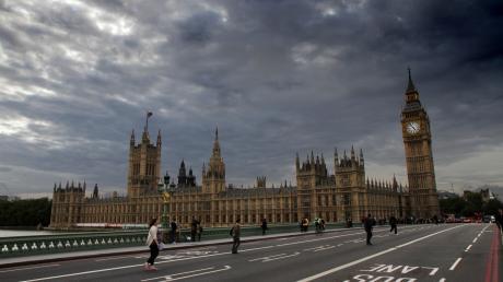 Der Brexit: Dunkle Wolken über London.