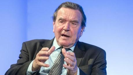 Gerhard Schröder war von 1998 bis 2005 Kanzler.