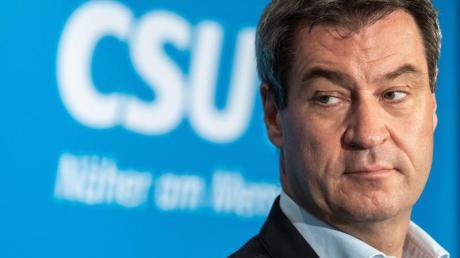 Bayerns Ministerpräsident Markus Söder: Die Opposition kritisiert seinen Kurs.