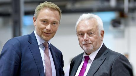 FDP-Chef Christian Lindner (lins) und sein Vize Wolfgang Kubicki.