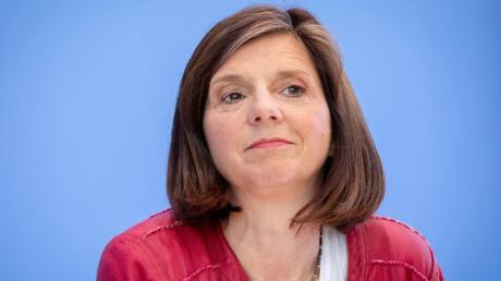 Katrin Göring-Eckardt ist von der Özdemir-Kandidatur überrascht, bewertet einen Wettbewerb aber positiv.