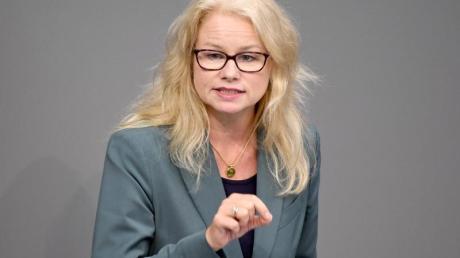 Kirsten Kappert-Gonther kandidiert zusammen mit Cem Özdemir für die Spitze der Grünen-Fraktion.
