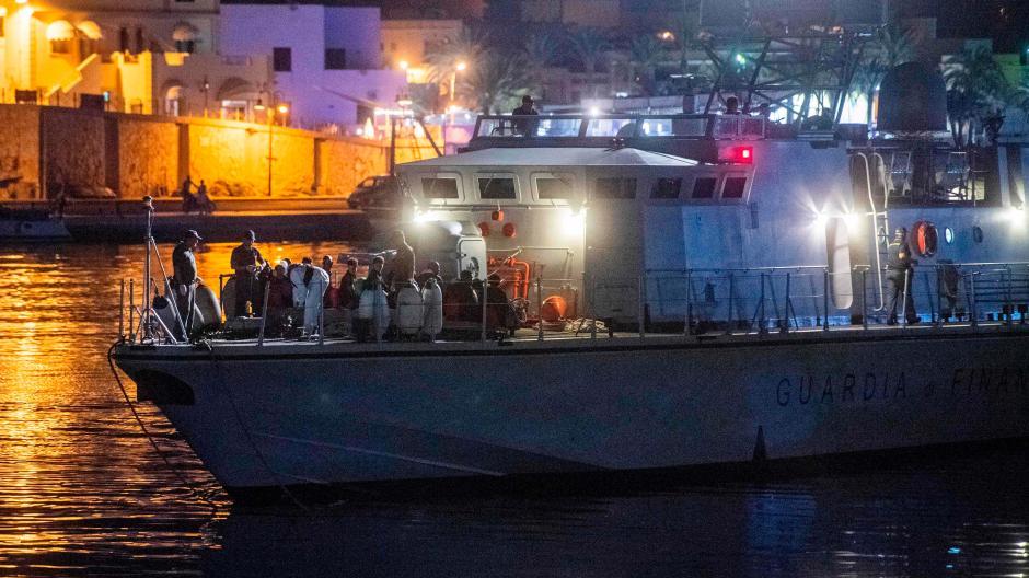 Italien Karte Lampedusa.Fluchtlingskrise Neue Regierung In Italien Sendet