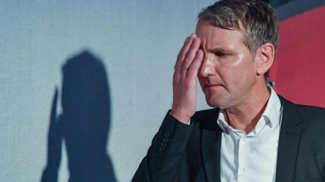 Thüringens AfD-Vorsitzender Björn Höcke hat ein Interview mit dem ZDFabgebrochen. Foto: Patrick Pleul/Archiv