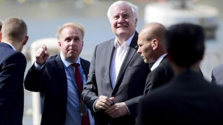 Bundesinnenminister Horst Seehofer bei einem Treffen der EU-Innenminister auf Malta, wo eine Übergangslösung für aus Seenot gerettete Migranten gefunden wurde.