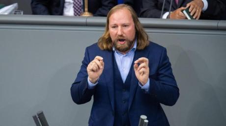 Grünen-Fraktionschef Anton Hofreiter kritisiert die Klimapolitik der Bundesregierung massiv.