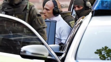 Der Attentäter von Halle. Foto: Uli Deck/dpa/Archivbild