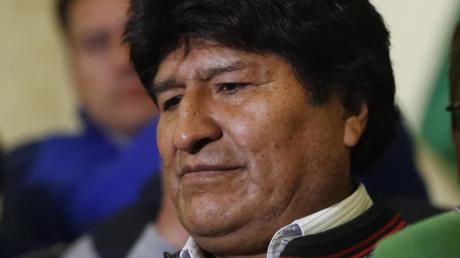 Boloiviens Präsident Evo Morales kann sich seiner Wiederwahl nicht sicher sein. Foto: Jorge Saenz/AP/dpa