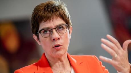 Laut Verteidigungsministerin Annegret Kramp-Karrenbauer beeinträchtigt die Situation in Syrien die Sicherheitsinteressen Europas und Deutschlands massiv. Foto: Michael Kappeler/dpa