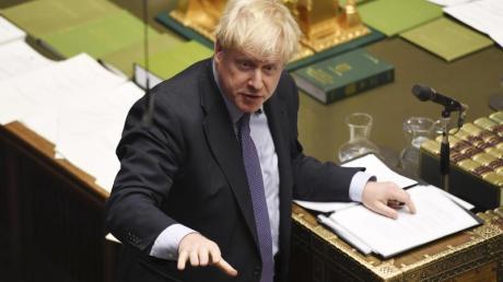 Der britische Premierminister Boris Johnson will den Brexit Vertrag vor Weihnachten durch das Parlament bringen.