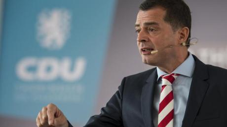 Thüringens CDU-Landeschef Mike Mohring hatte mehrere Morddrohungen erhalten. Foto: Jens-Ulrich Koch/zb/dpa