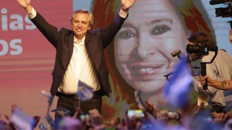 Der Oppositionskandidat Alberto Fernández hat die Präsidentenwahl in Argentinien gewonnen. Foto: Daniel Jayo/AP/dpa