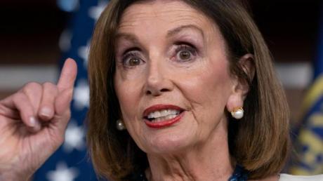 Nancy Pelosi, Vorsitzende des US-Repräsentantenhauses. Foto: J. Scott Applewhite/AP/dpa