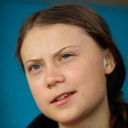 Greta Thunberg, Klimaaktivistin und Schülerin aus Schweden. Foto: Kirsty Wigglesworth/AP/dpa