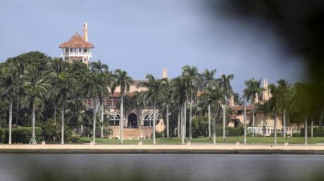 Ein Blick auf das Mar-a-Lago Resort, das zukünftige Hauptdomizil von US-Präsident Donald Trump im US-Bundesstaat Florida.