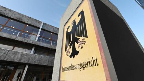 Blick auf das Bundesverfassungsgericht in Karlsruhe.