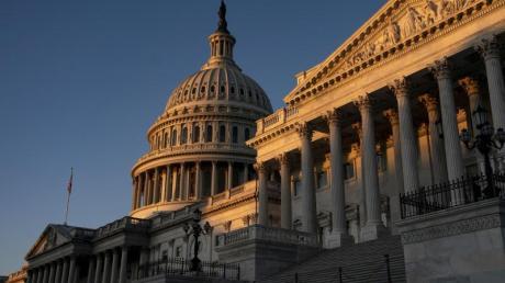 Das Kapitol inWashington im Licht der aufgehenden Sonne. Foto: J. Scott Applewhite/AP/dpa