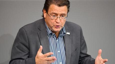 Stephan Brandner (AfD) während einer Sitzung des Bundestages. Foto: Soeren Stache/dpa-Zentralbild/dpa
