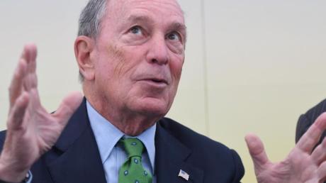 Der ehemalige Bürgermeister von New York, Michael Bloomberg, bereitet seine Präsidentschaftskandidatur vor. Foto: Henning Kaiser/dpa