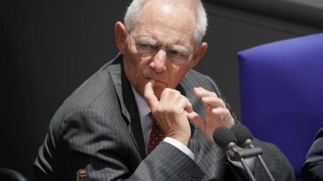 Bundestagspräsident Wolfgang schäuble vermisst bei der großen Koalition ein «Ringen um Alternativen» zum Rechtspopulismus der AfD.