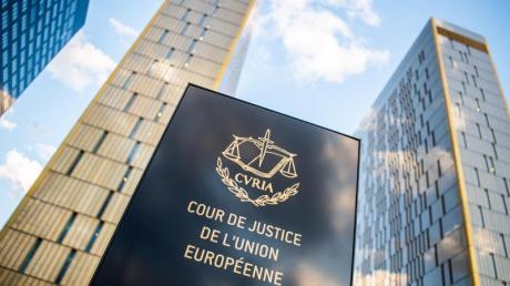 Die Bürotürme des Europäischen Gerichtshofs in Luxemburg.