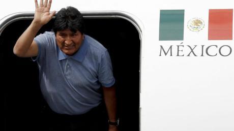 Nach seinem Rücktritt als Präsident Boliviens hat sich Morales ins Exil nach Mexiko abgesetzt. Foto: Eduardo Verdugo/AP/dpa