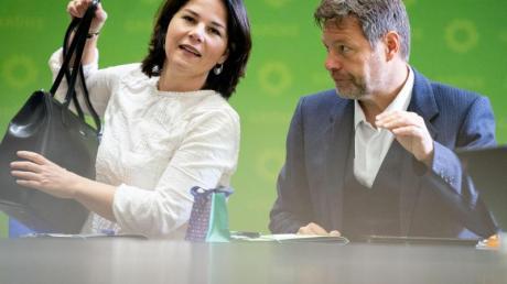 Robert Habeck und Annalena Baerbock führen die Grünen seit Januar 2018.