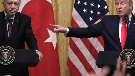 US-Präsident Donald Trump hat den türkischen Präsidenten Recep Tayyip Erdogan im Weißen Haus empfangen.