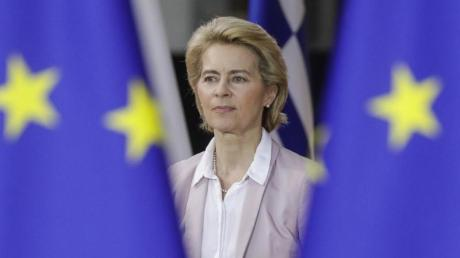 Ursula von der Leyen soll eigentlich am 1. Dezember neue Präsidentin der Europäischen Kommission werden. Foto: Thierry Roge/BELGA/dpa