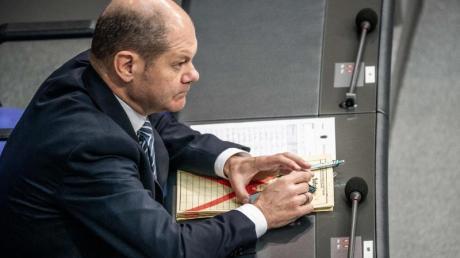 Finanzminister Scholz hatte jüngst überraschend Bereitschaft für eine europäische Sicherung für Sparguthaben signalisiert. Foto: Michael Kappeler/dpa