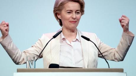 Die designierte Präsidentin der Europäischen Kommission: Ursula von der Leyen (CDU).