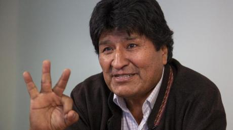 Evo Morales, Ex-Präsident von Bolivien, im dpa-Interview. Foto: Jair Cabrera Torres/dpa