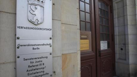 Die Generalstaatsanwaltschaft Berlin und die Bundesanwaltschaft in Karlsruhe ermitteln nach der Festnahme eines terrorverdächtigen Syrers in Berlin. Foto: Florian Schuh/dpa