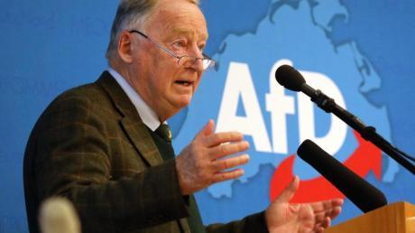 AfD-Chef Alexander Gauland. - Am 30. November findet in Braunschweig der AfD-Parteitag statt. Dort wird der Parteivorstand neu gewählt. Und die Partei muss über ihre Haltung zur Identitären Bewegung entscheiden.