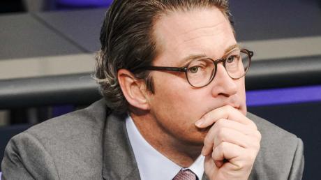 Bundesverkehrsminister Andreas Scheuer (CSU) muss sich ab dem 12.12. vor einem Untersuchungsausschuss verantworten.