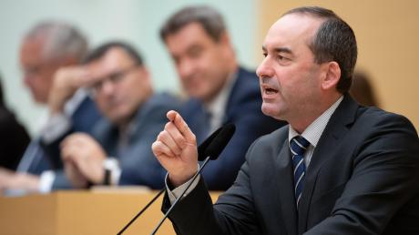 Hubert Aiwanger (Freie Wähler), bayerischer Wirtschaftsminister.
