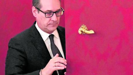 Geht die Tür für Heinz-Christian Strache nochmals auf? Zumindest in der FPÖ scheint kein Comeback mehr möglich.