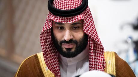 Saudi-Arabiens Kronprinz Mohammed bin Salman bin Abdelasis al-Saud im Juni beim G20-Gipfel in Osaka.