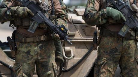 Spezialkräfte der Bundeswehr beim Tag der Bundeswehr 2018.