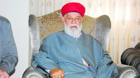 Ein Merkel-Verehrer mitten im Westjordanland: Der samaritanische Priester Yusef Cohen.