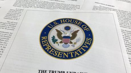 Bericht der US-Demokraten im Amtsenthebungsverfahren gegen US-Präsident Trump.