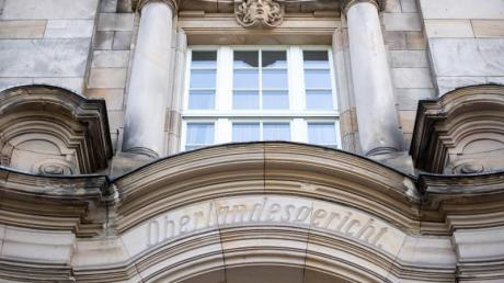 Außenfassade des Oberlandesgerichts in Düsseldorf.