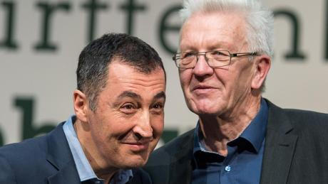 Grüne Freunde: Cem Özdemir und Winfried Kretschmann.