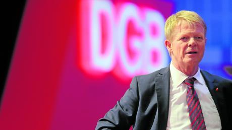 DGB-Chef Reiner Hoffmann sieht in Klimawandel und Digitalisierung die größten Herausforderungen.