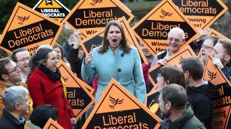 Jo Swinson, Vorsitzende der Liberaldemokraten in Großbritannien.